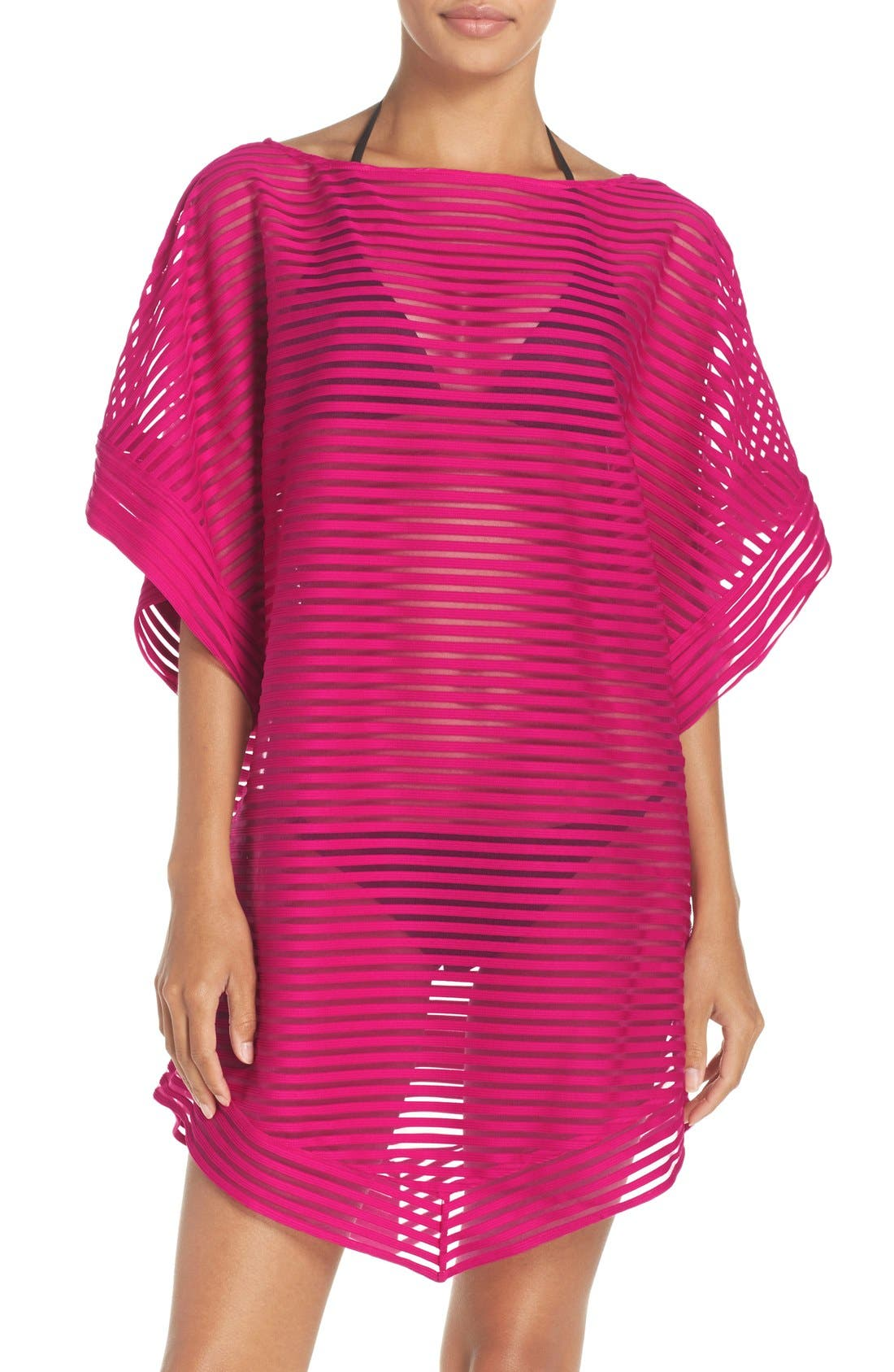 Ted Baker London Stripe Cover-Up Tunic