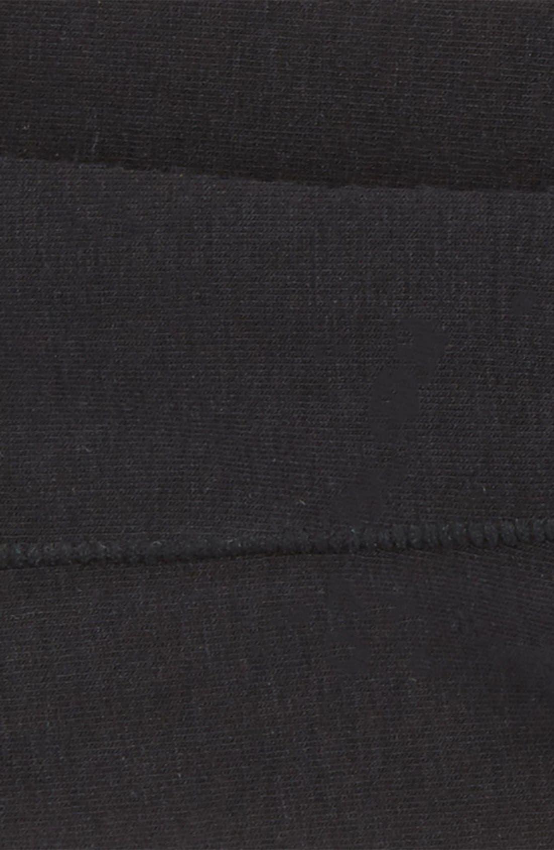 'Ultra Fit' Laser Cut Liner Socks,                             Alternate thumbnail 2, color,                             Black