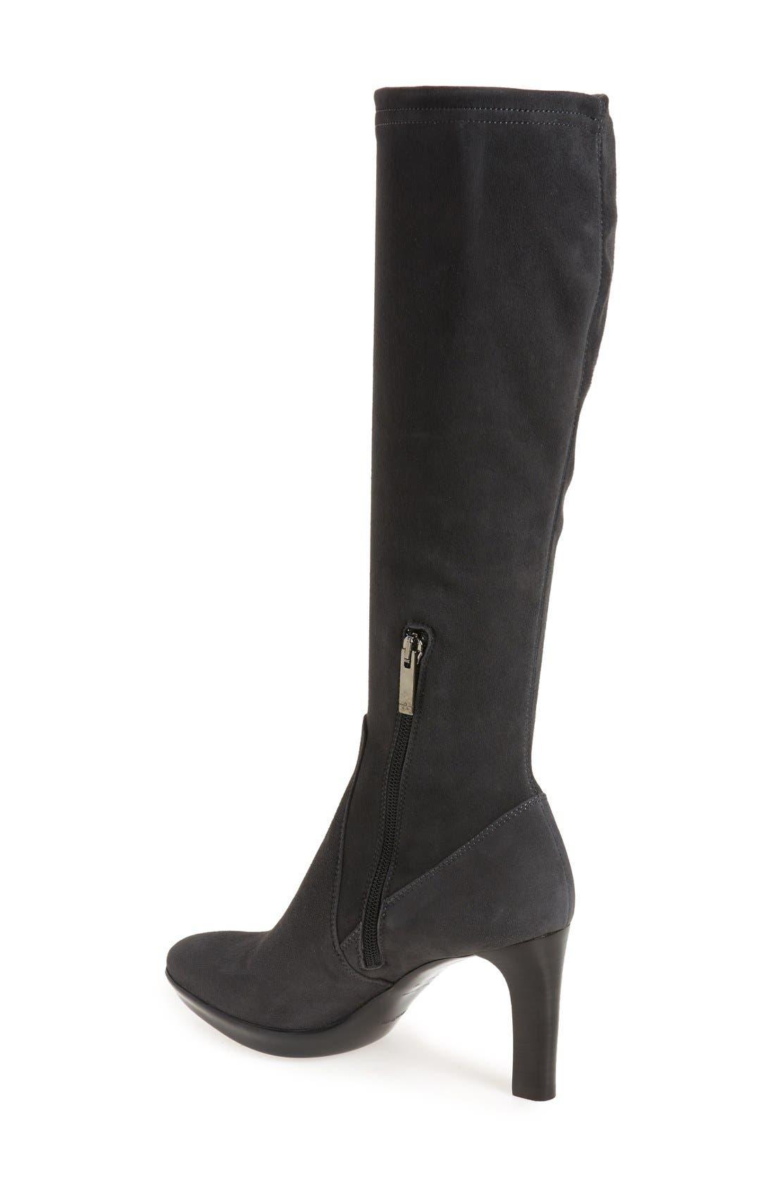 Alternate Image 2  - Aquatalia 'Rumbah' Weatherproof Knee High Stretch Boot (Women)