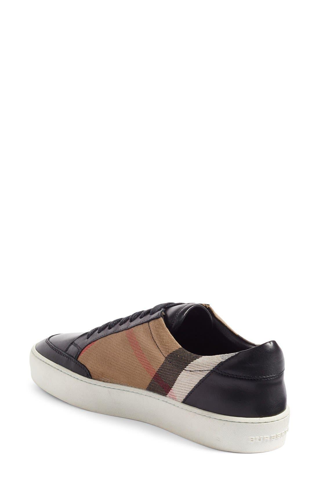 Alternate Image 2  - Burberry Salmond Sneaker (Women)