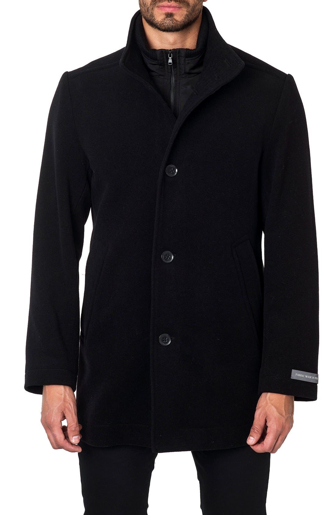 Main Image - Jared Lang Wool Blend Coat