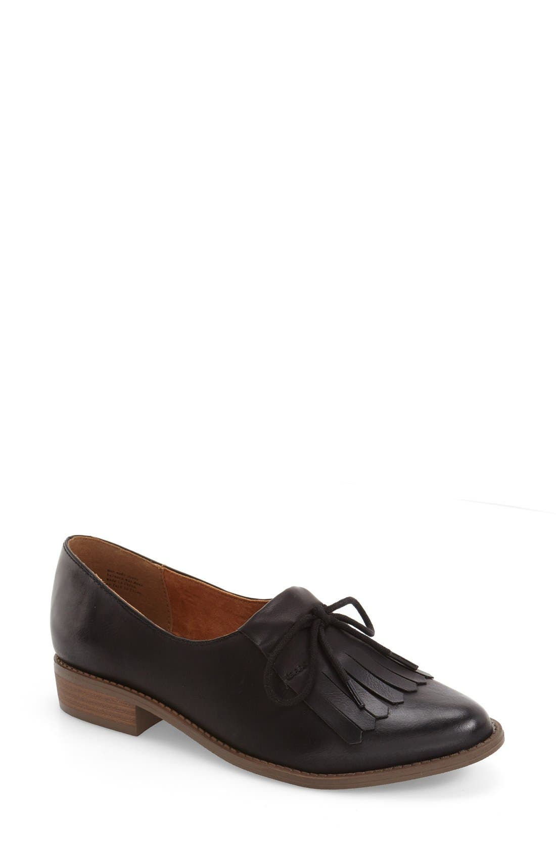 Alternate Image 1 Selected - BC Footwear 'Flash' Kiltie Flap Oxford (Women)