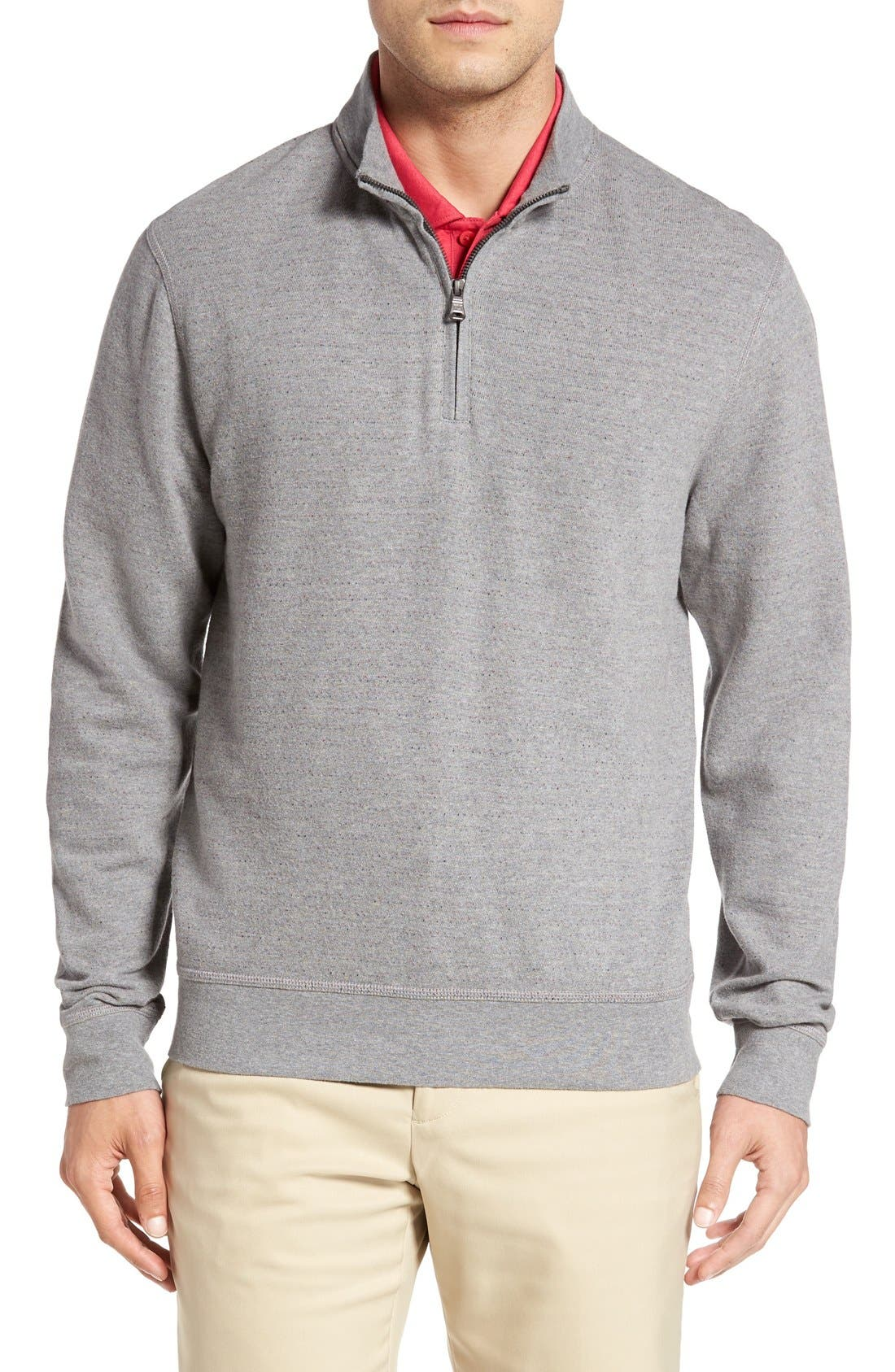 Cutter & Buck 'Gleann' Quarter Zip Pullover (Big & Tall)