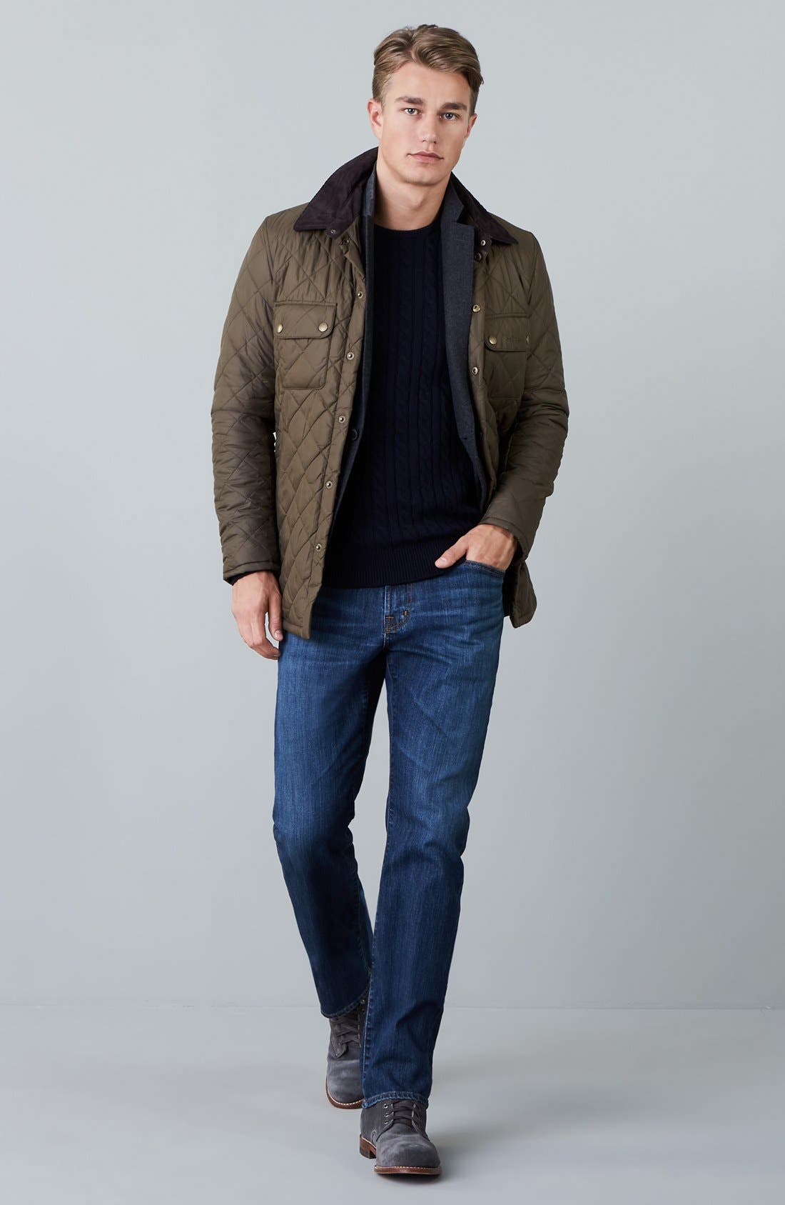 Alternate Image 6  - Barbour 'Akenside' Quilted Jacket