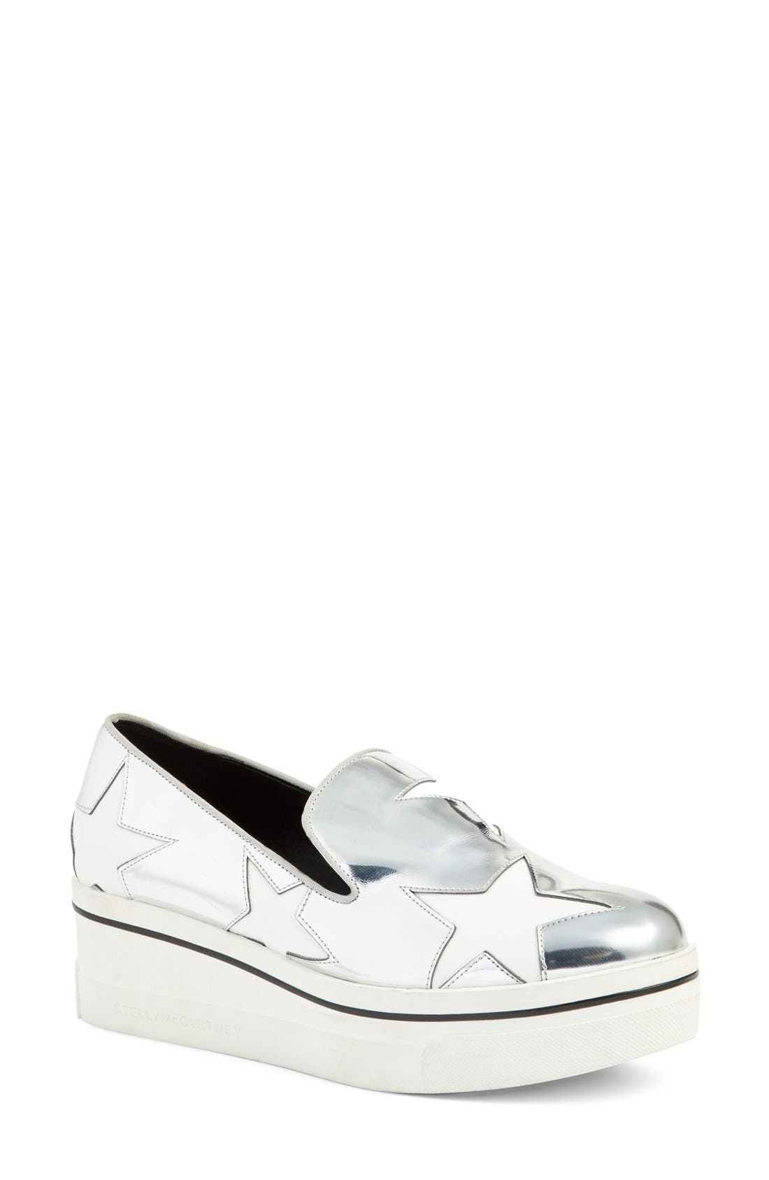 Stella McCartney 'Binx Star' Slip-On Platform Sneaker (Women)