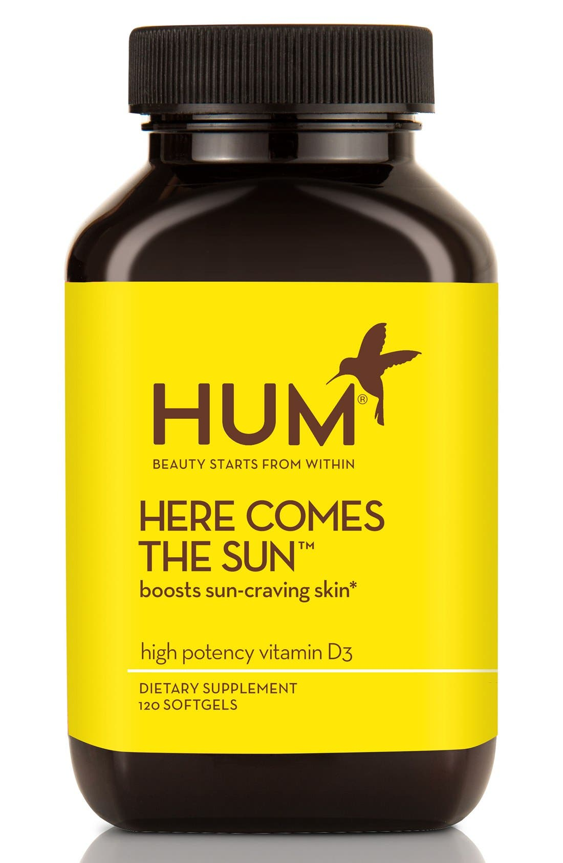 Hum Nutrition Here Comes the Sun Softgels