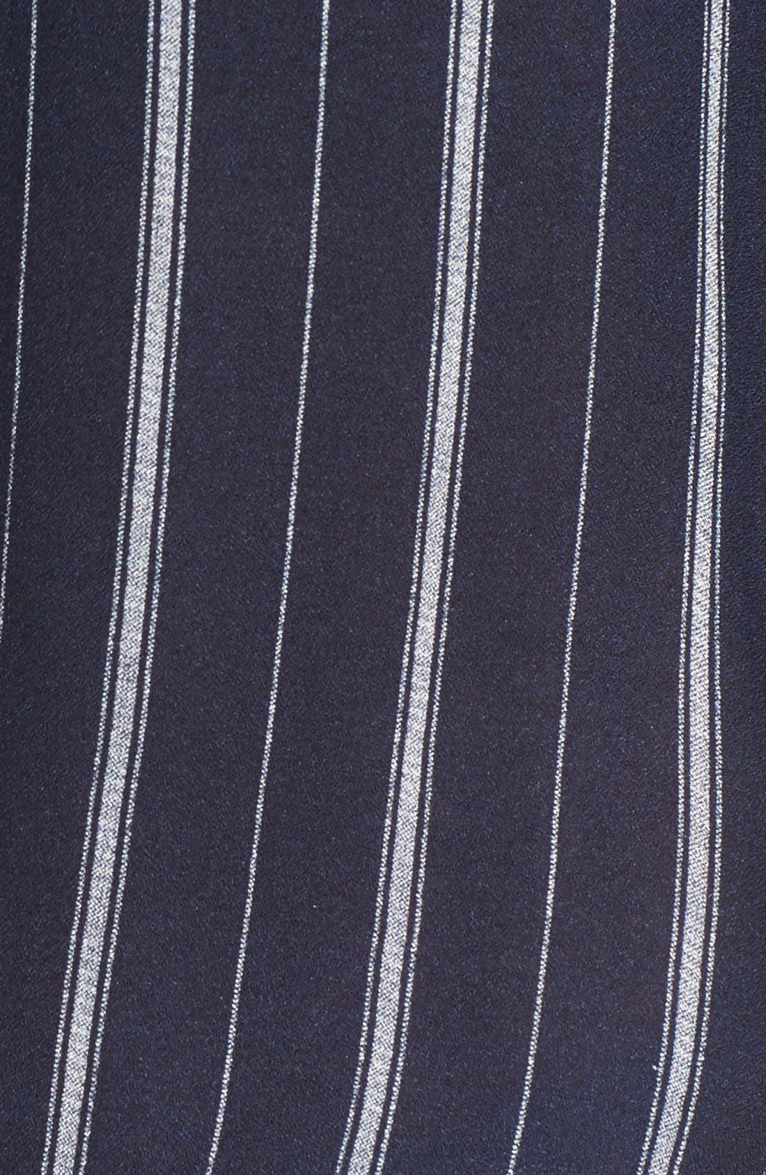 Alternate Image 5  - BP. Stripe Ruffle Popover Shirt