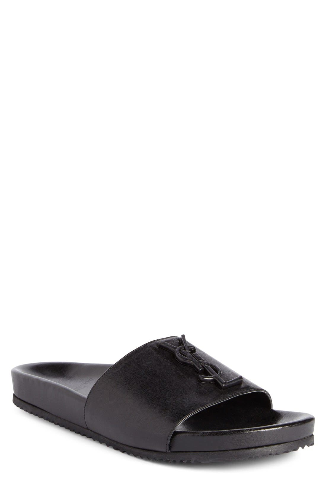 Saint Laurent Joan Slide Sandal (Women)
