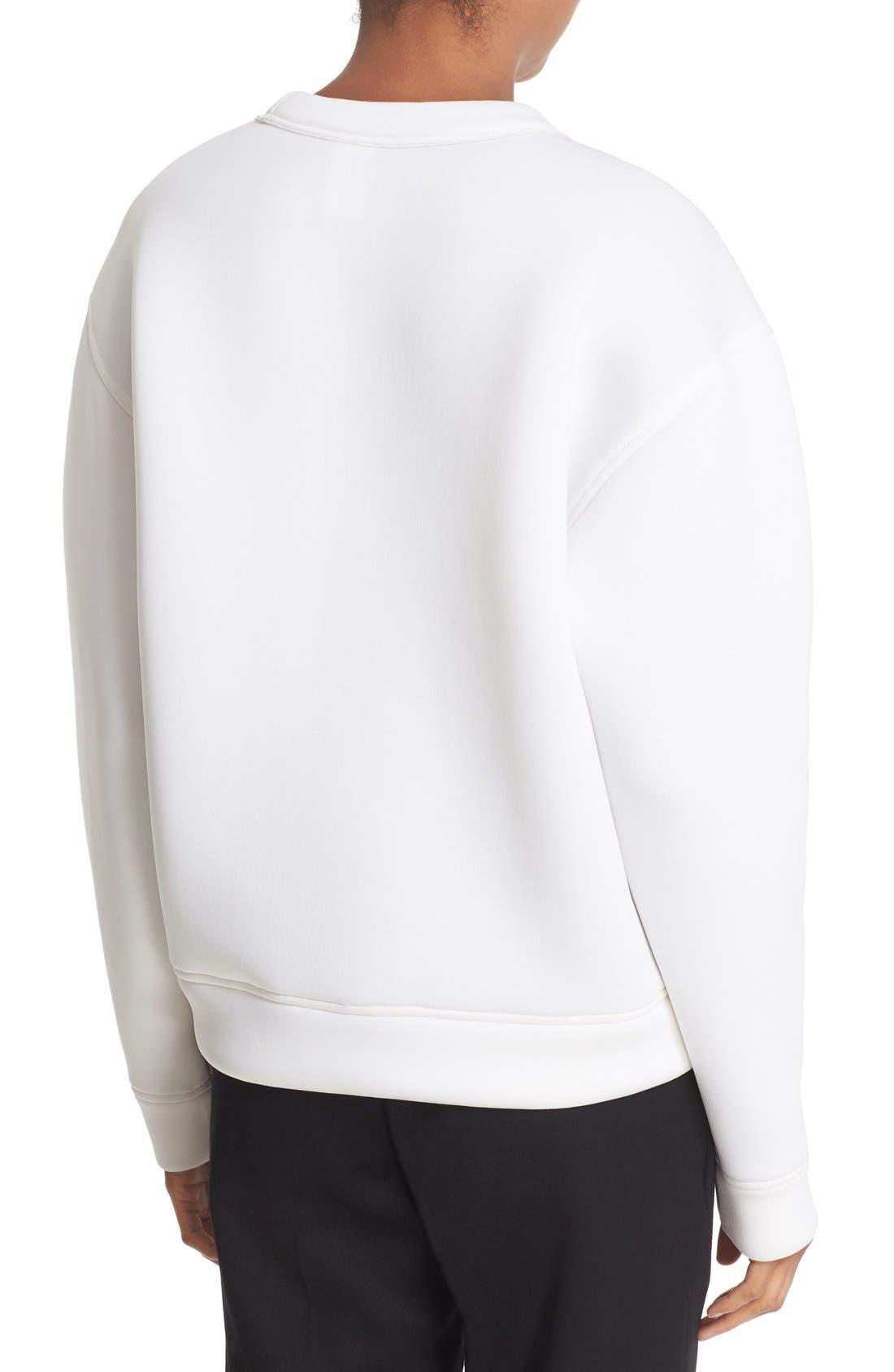 Alternate Image 2  - DKNY 'Runway' Graphic Print Sweatshirt