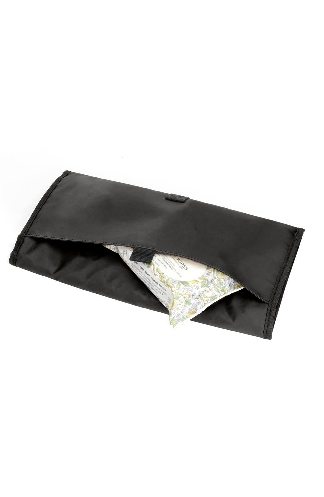 'Sandy' Diaper Bag,                             Alternate thumbnail 4, color,                             Navy
