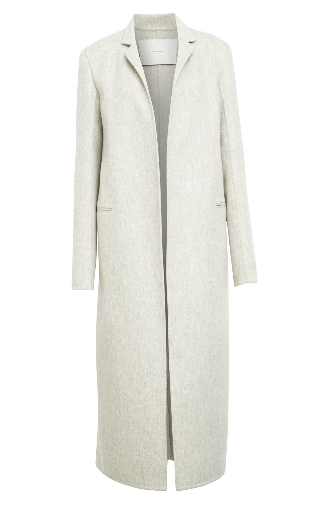 Alternate Image 4  - Adam Lippes Double Face Cashmere & Wool Coat