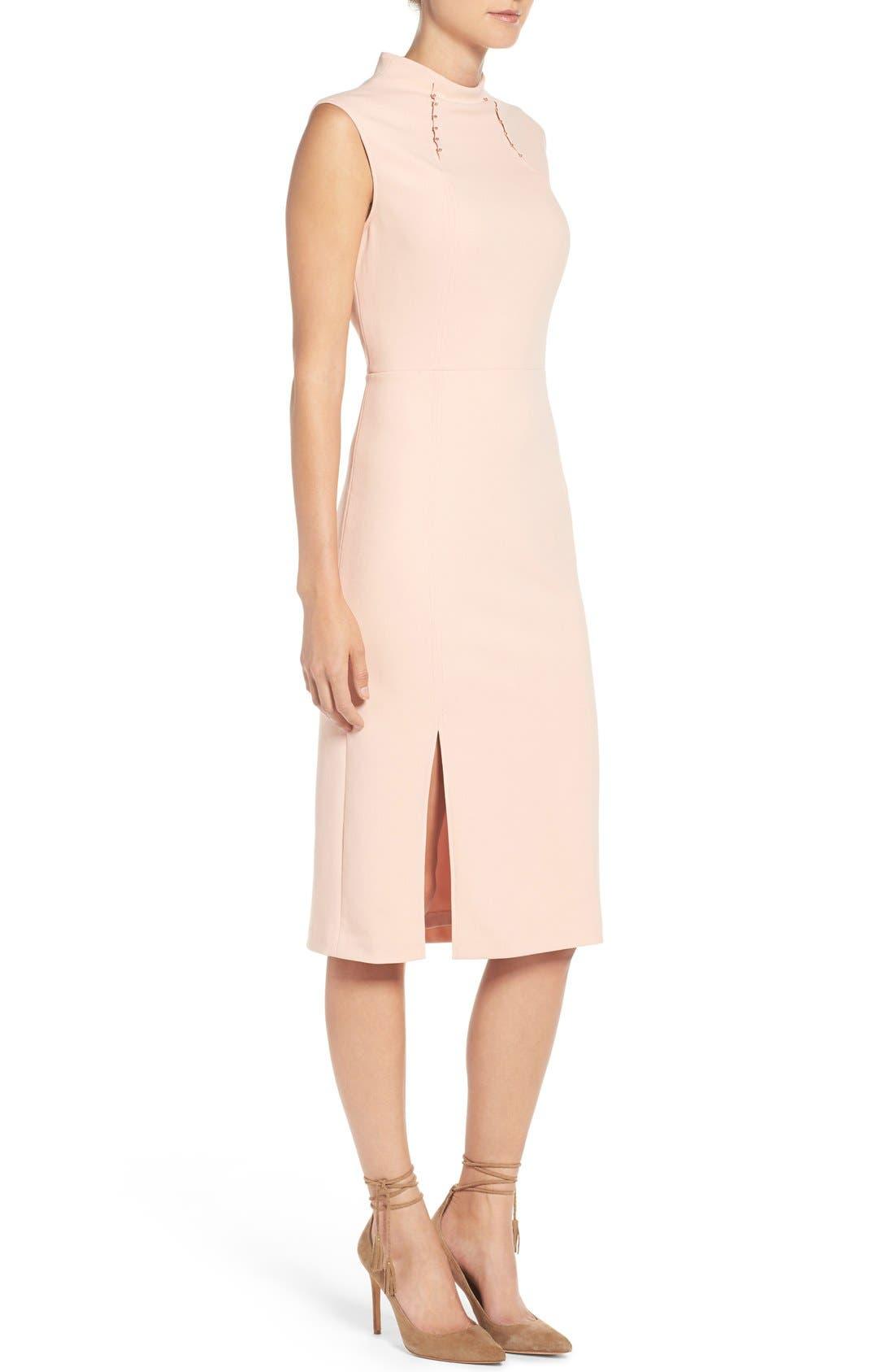 Alternate Image 3  - Ivanka Trump Crepe Midi Dress