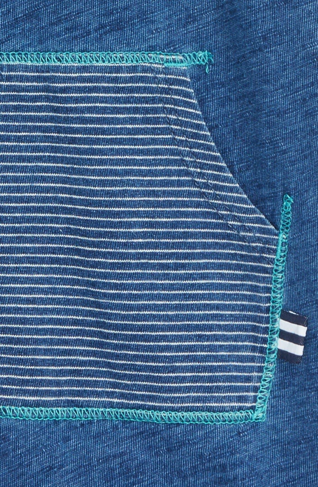 Cotton Romper,                             Alternate thumbnail 2, color,                             Medium Stone