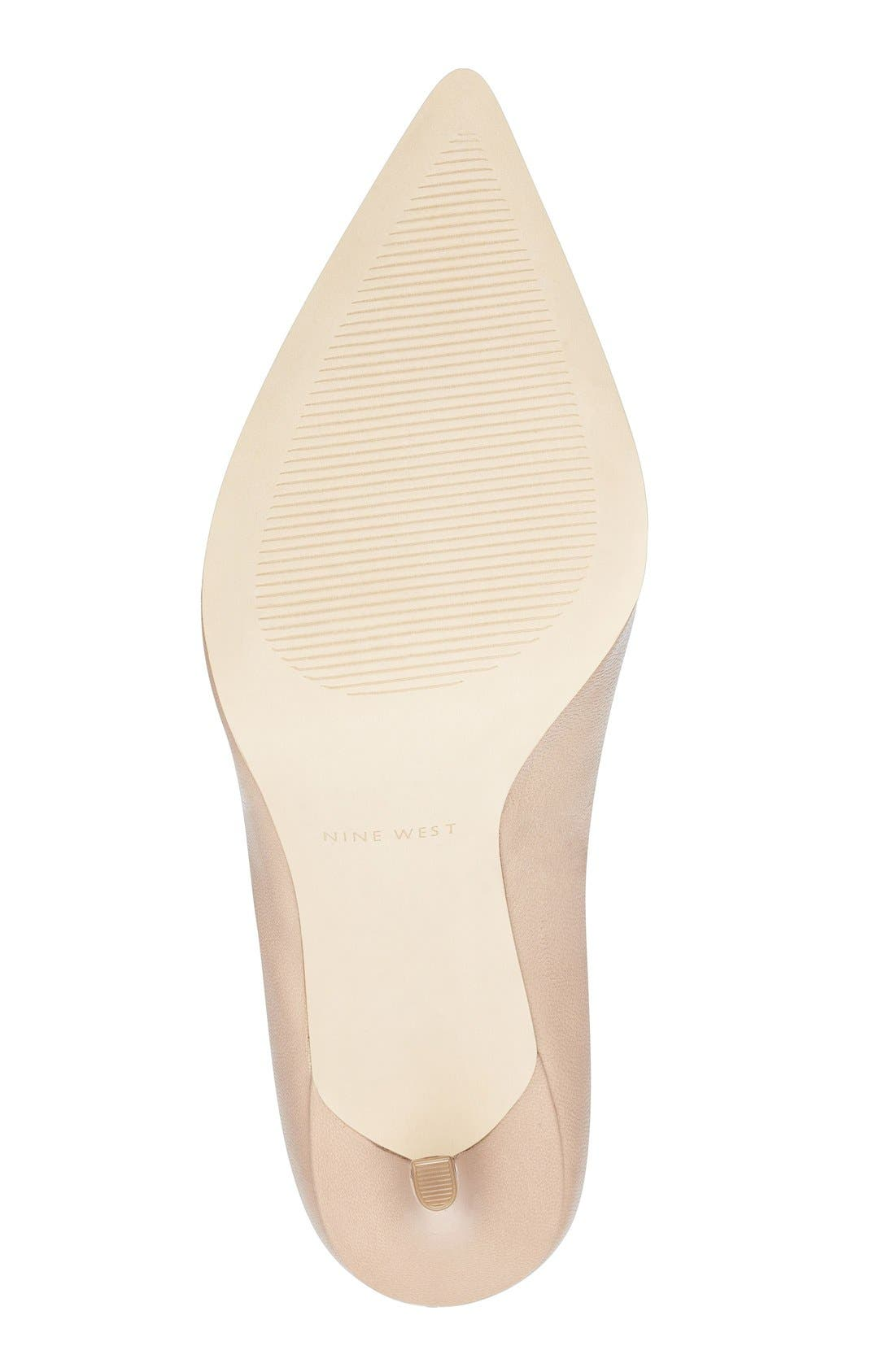 Alternate Image 4  - Nine West 'Jackpot' Pointy Toe Pump (Women)