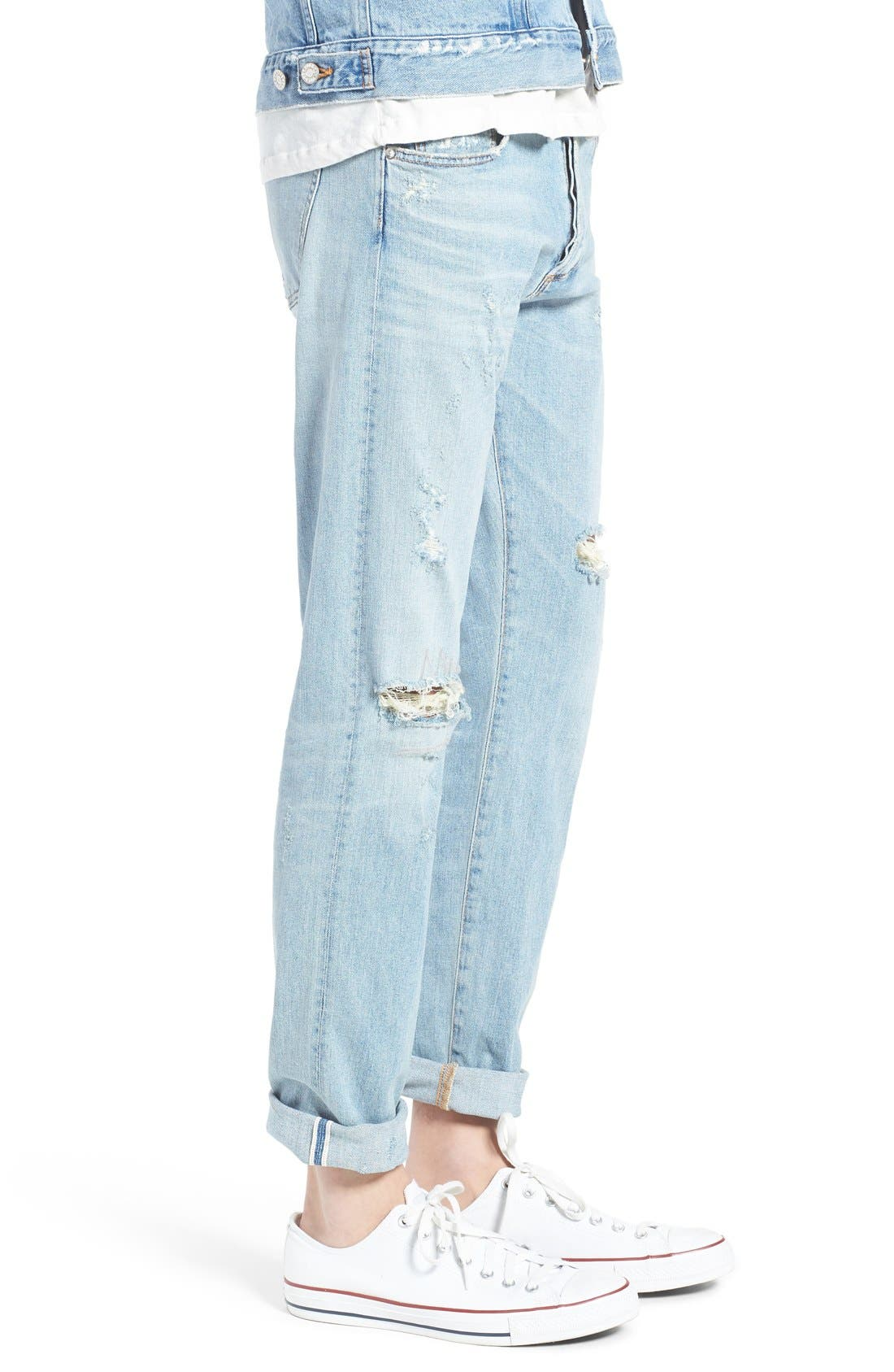 Alternate Image 3  - AGOLDE Skinny Fit Distressed Jeans (Pixx) (Men)