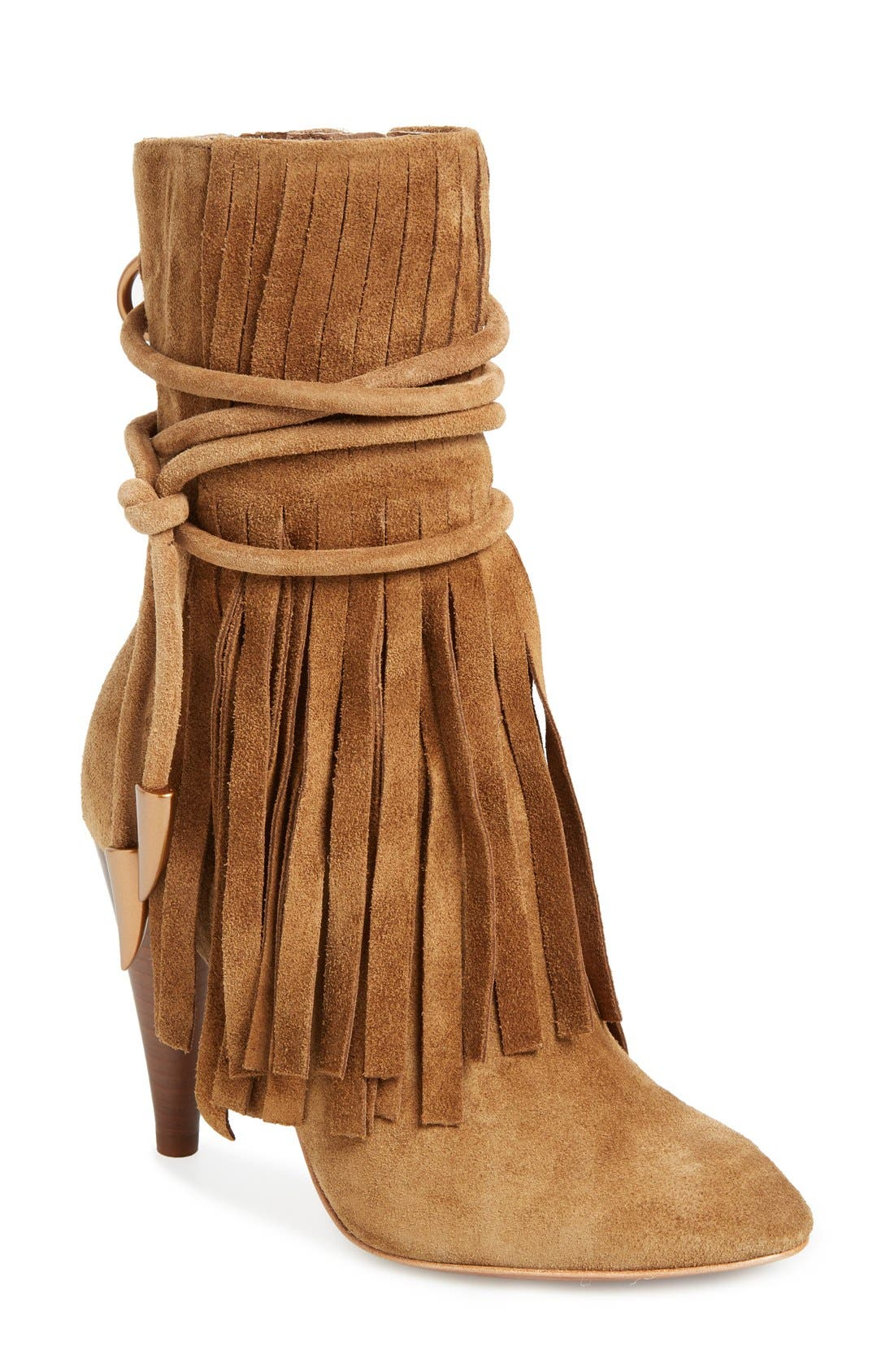 Main Image - Ash 'Bird' Fringe Boot (Women)