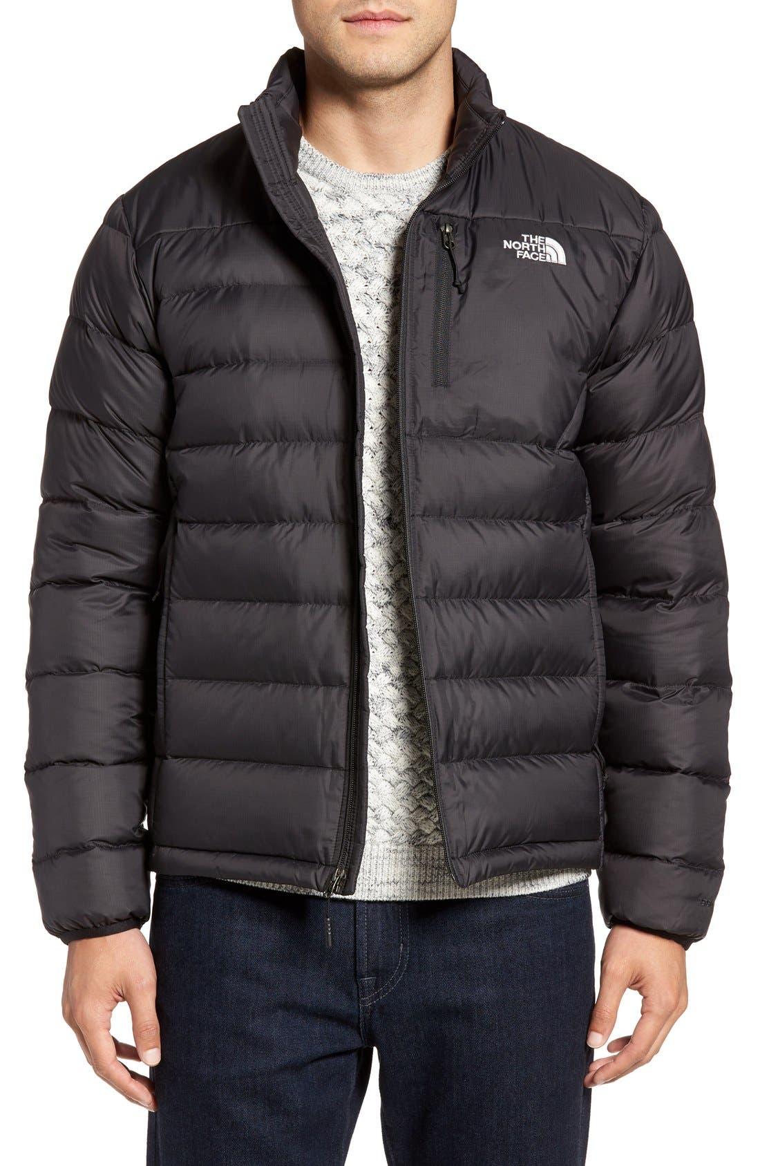 'Aconcagua' Goose Down Jacket,                         Main,                         color, Black