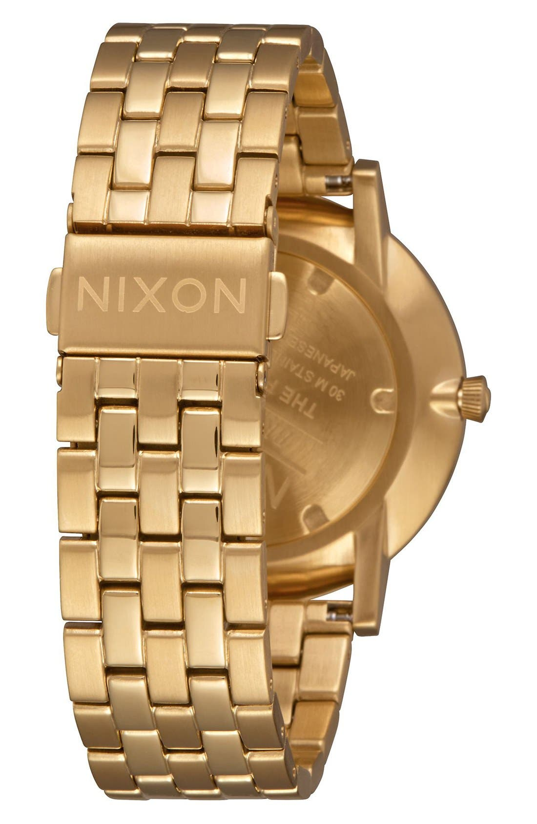 Alternate Image 2  - Nixon The Porter Bracelet Watch, 40mm