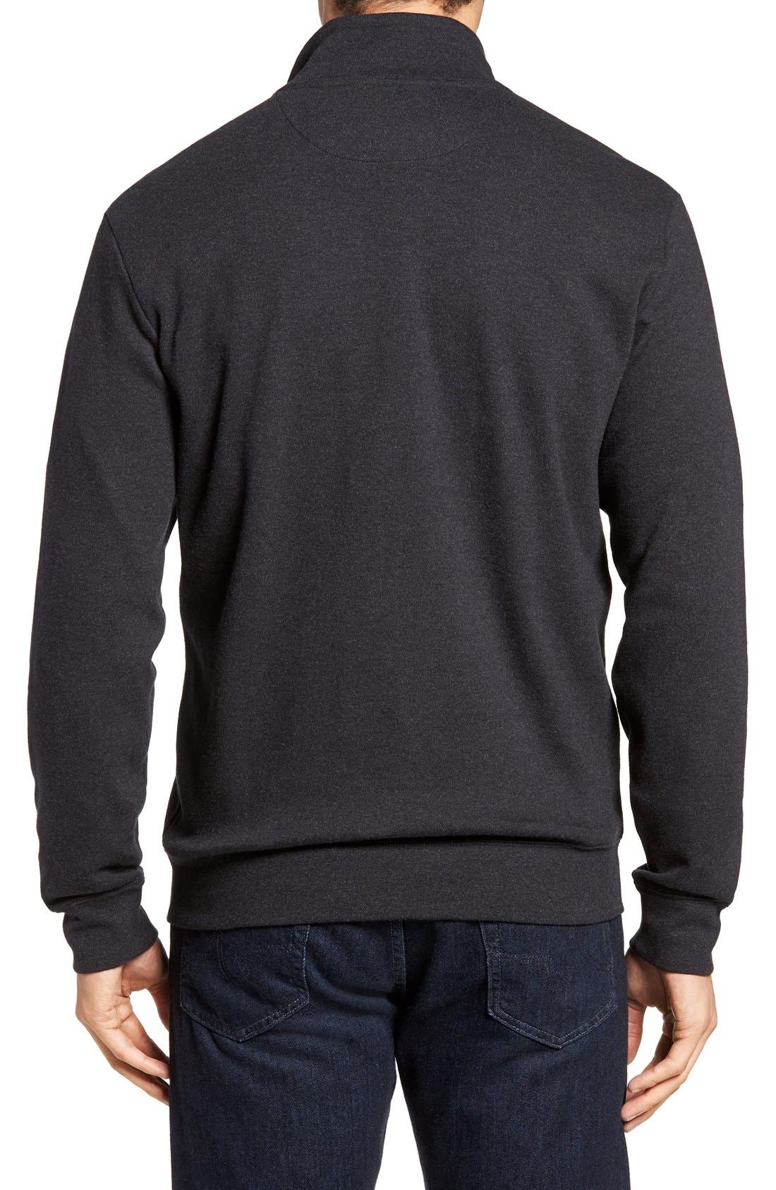 Alternate Image 2  - Vineyard Vines Quarter Zip Sweater