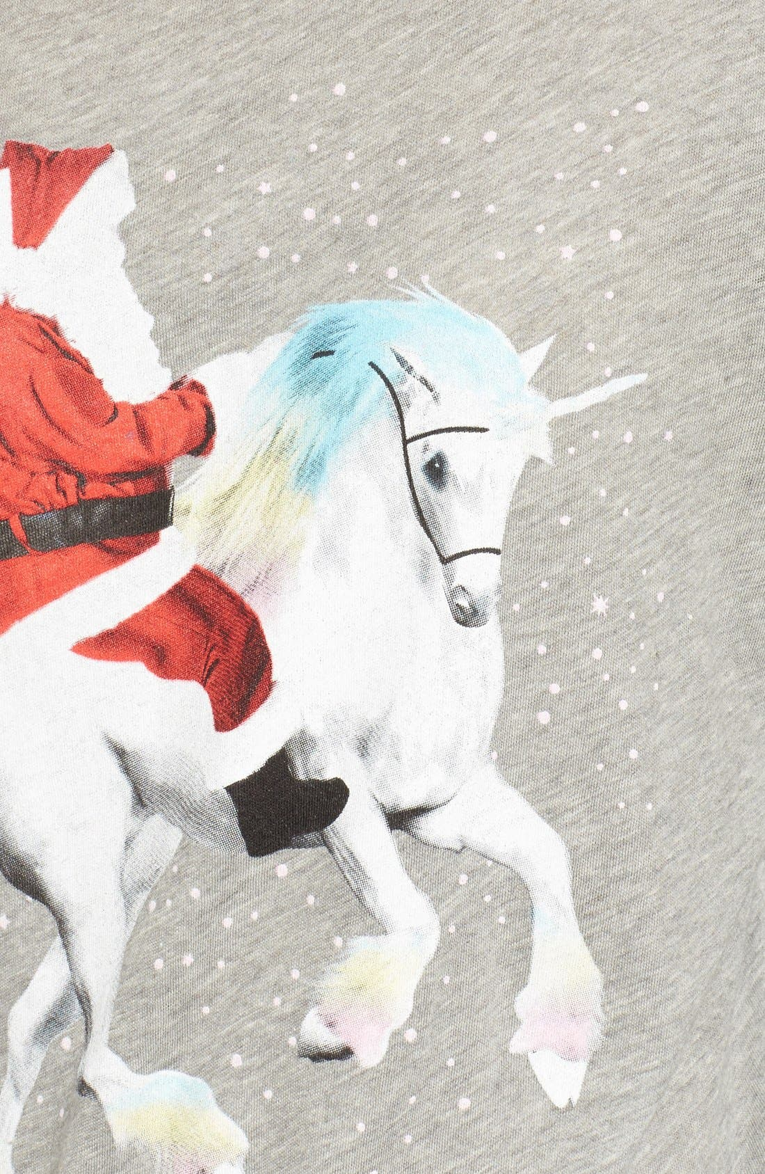 Alternate Image 5  - Wildfox Unicorn Sleigh Tee