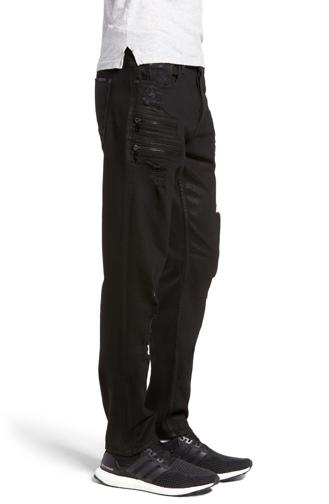 Alternate Image 3  - Hudson Jeans Broderick Skinny Fit Jeans (Untamed)