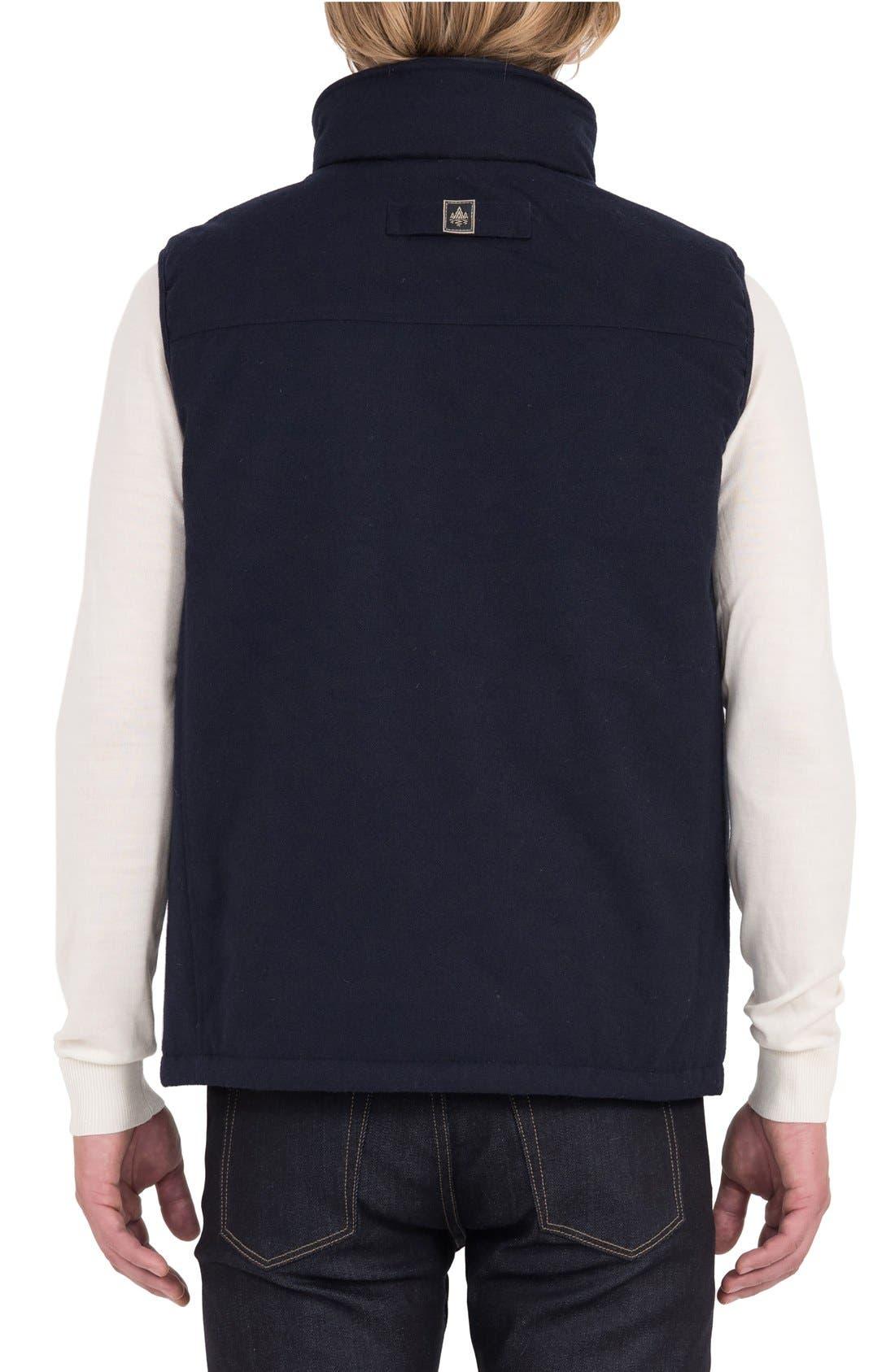 Aniak Military Vest,                             Alternate thumbnail 2, color,                             Navy
