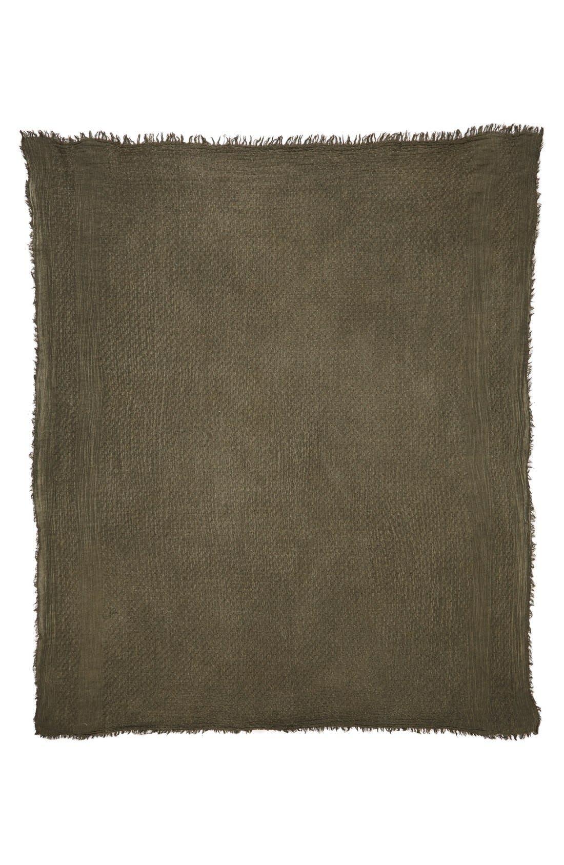 Alternate Image 2  - BP. Woven Cotton Square Scarf