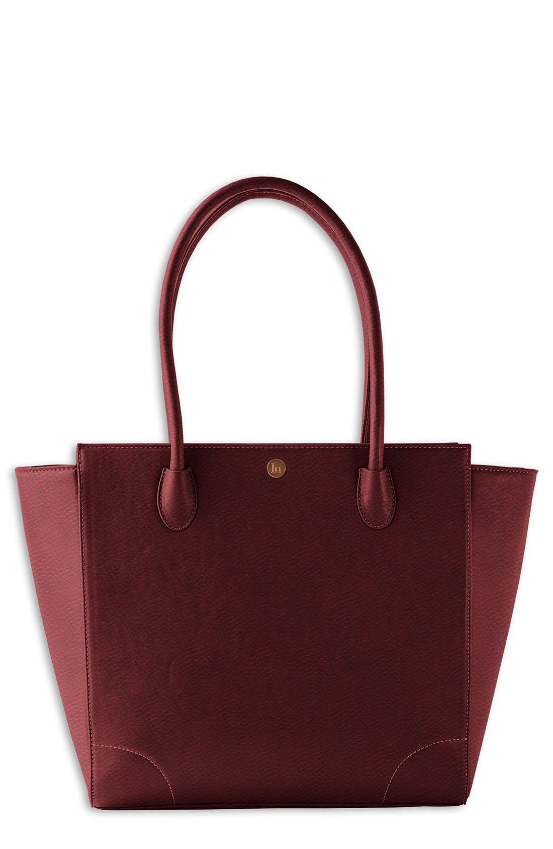 'Brookside' Diaper Tote,                         Main,                         color, Pomegranate