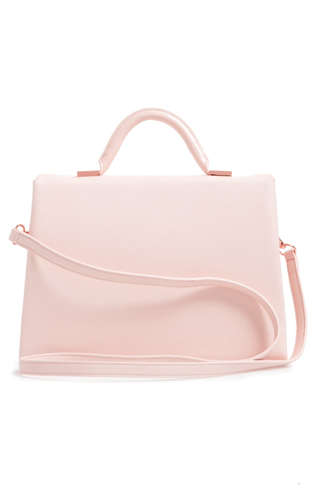 Alternate Image 2  - Ted Baker London Faux Leather Satchel (Nordstrom Exclusive)