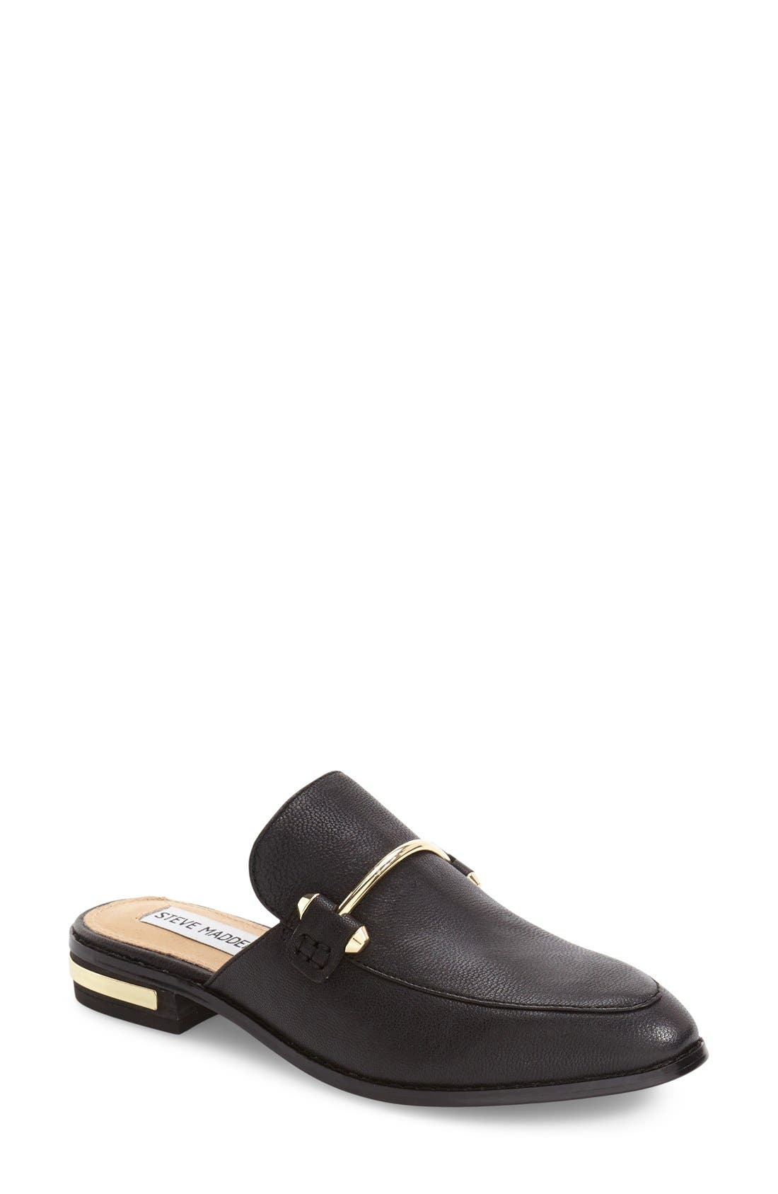 Alternate Image 1 Selected - Steve Madden Laaura Backless Loafer (Women)