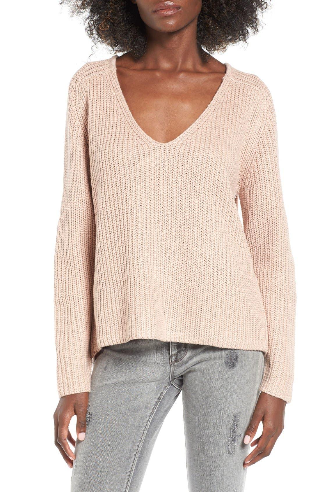Main Image - Leith V-Neck Sweater