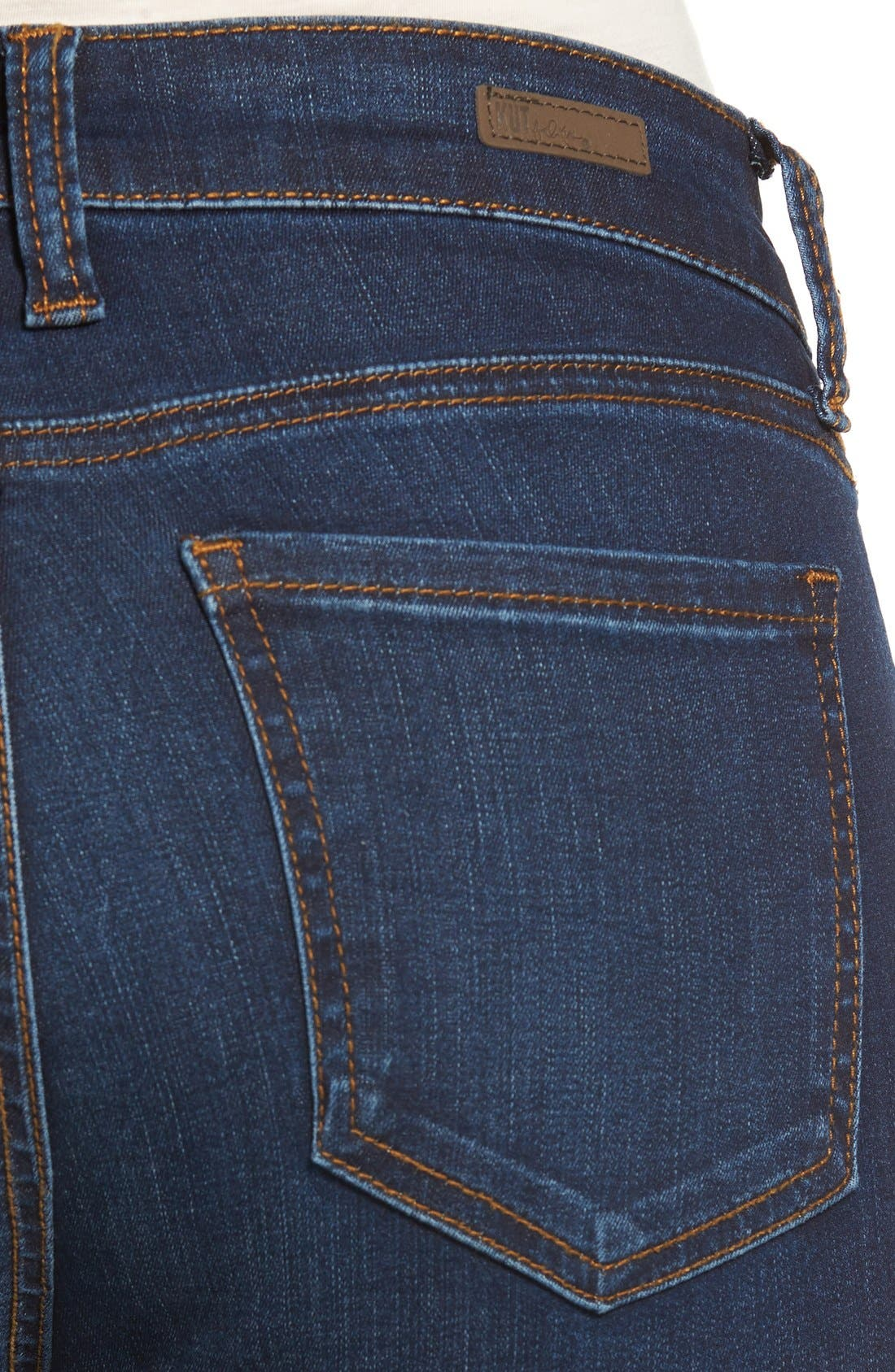 Alternate Image 4  - Kut From the Kloth Mia Stretch Skinny Jeans (Awareness)