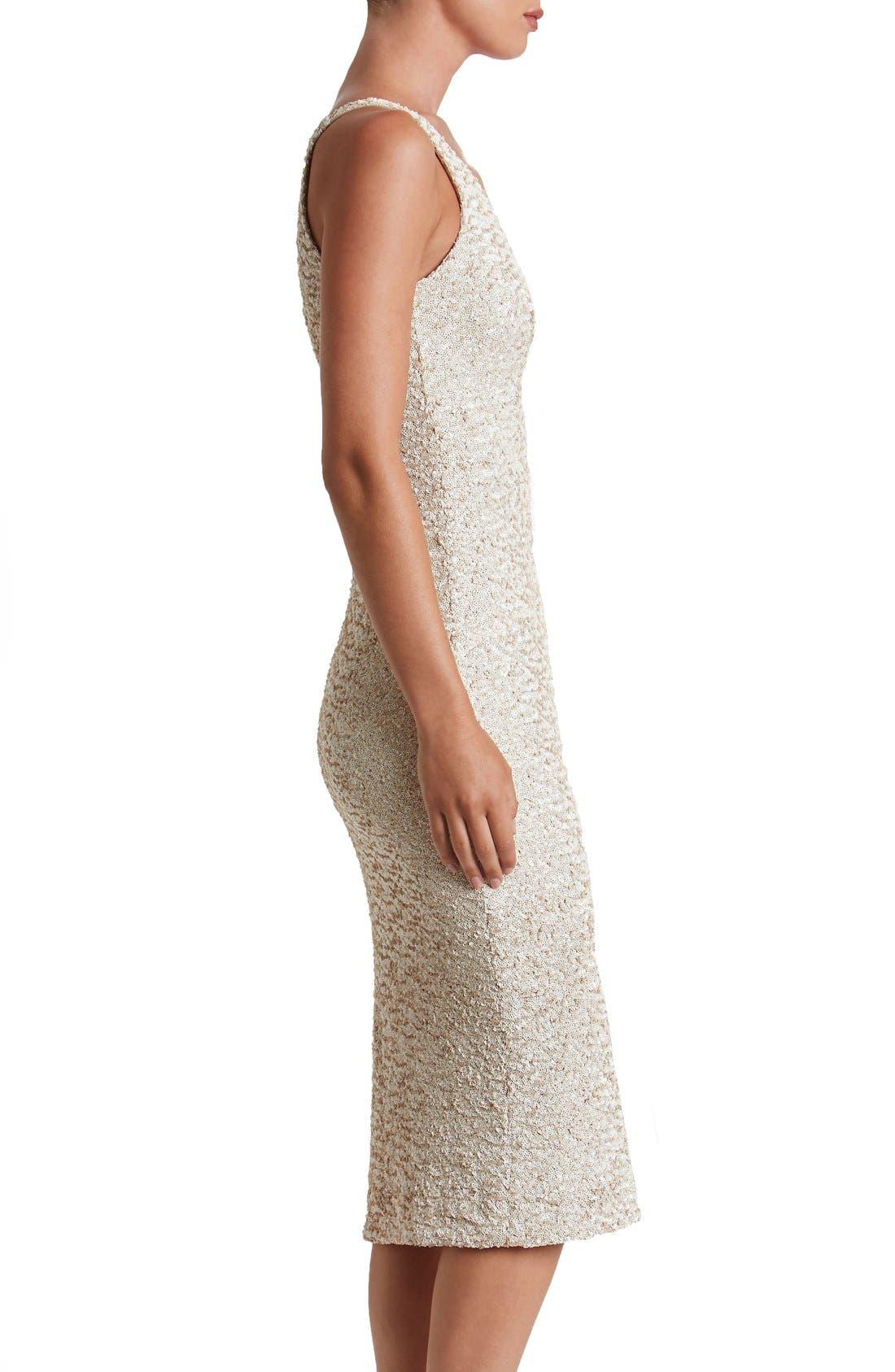 Alternate Image 3  - Dress the Population Camilla Sequin Dress