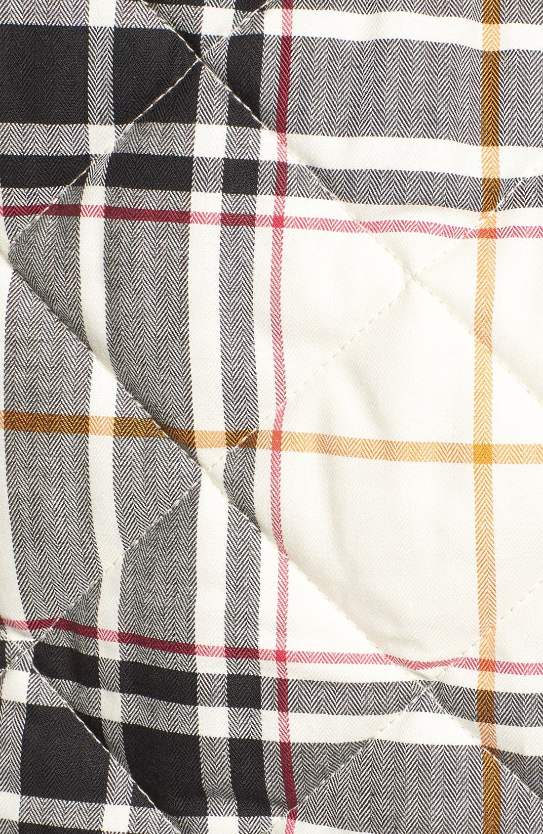 Alternate Image 5  - Foxcroft Plaid Quilt Vest