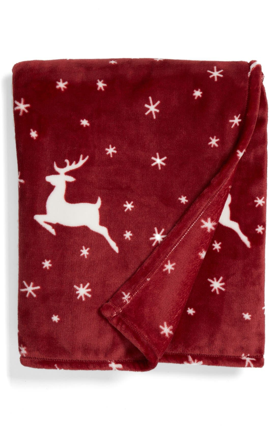 Alternate Image 1 Selected - Nordstrom at Home Print Plush Throw