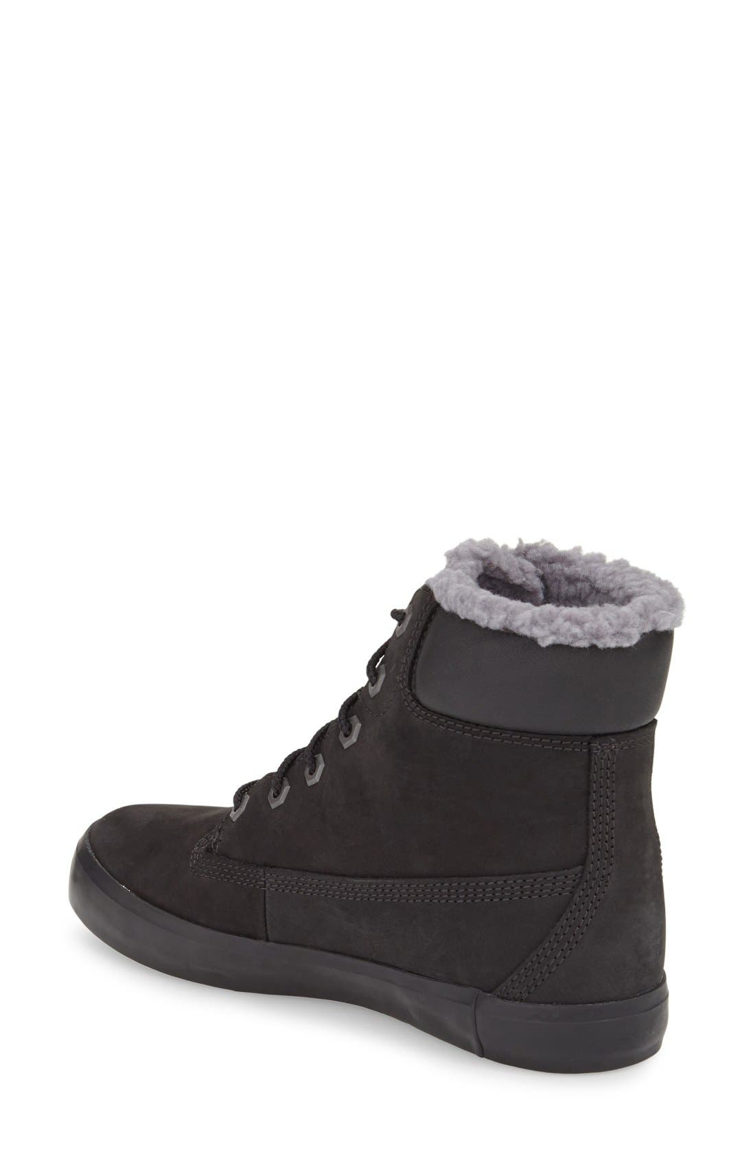 Alternate Image 2  - Timberland Flannery Hidden Wedge Boot with Faux Fur Lining (Women)