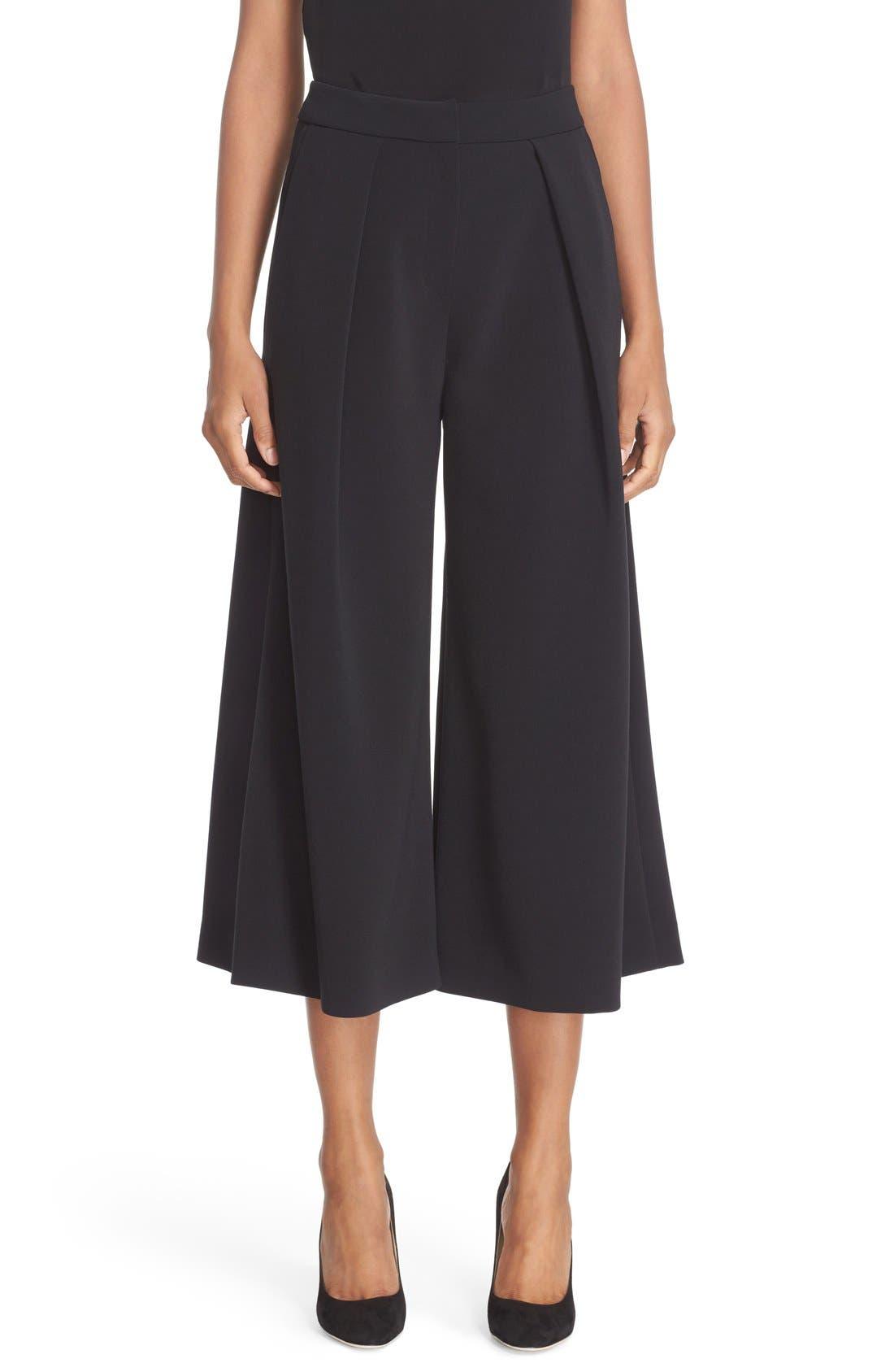 Devon Culottes,                         Main,                         color, Black