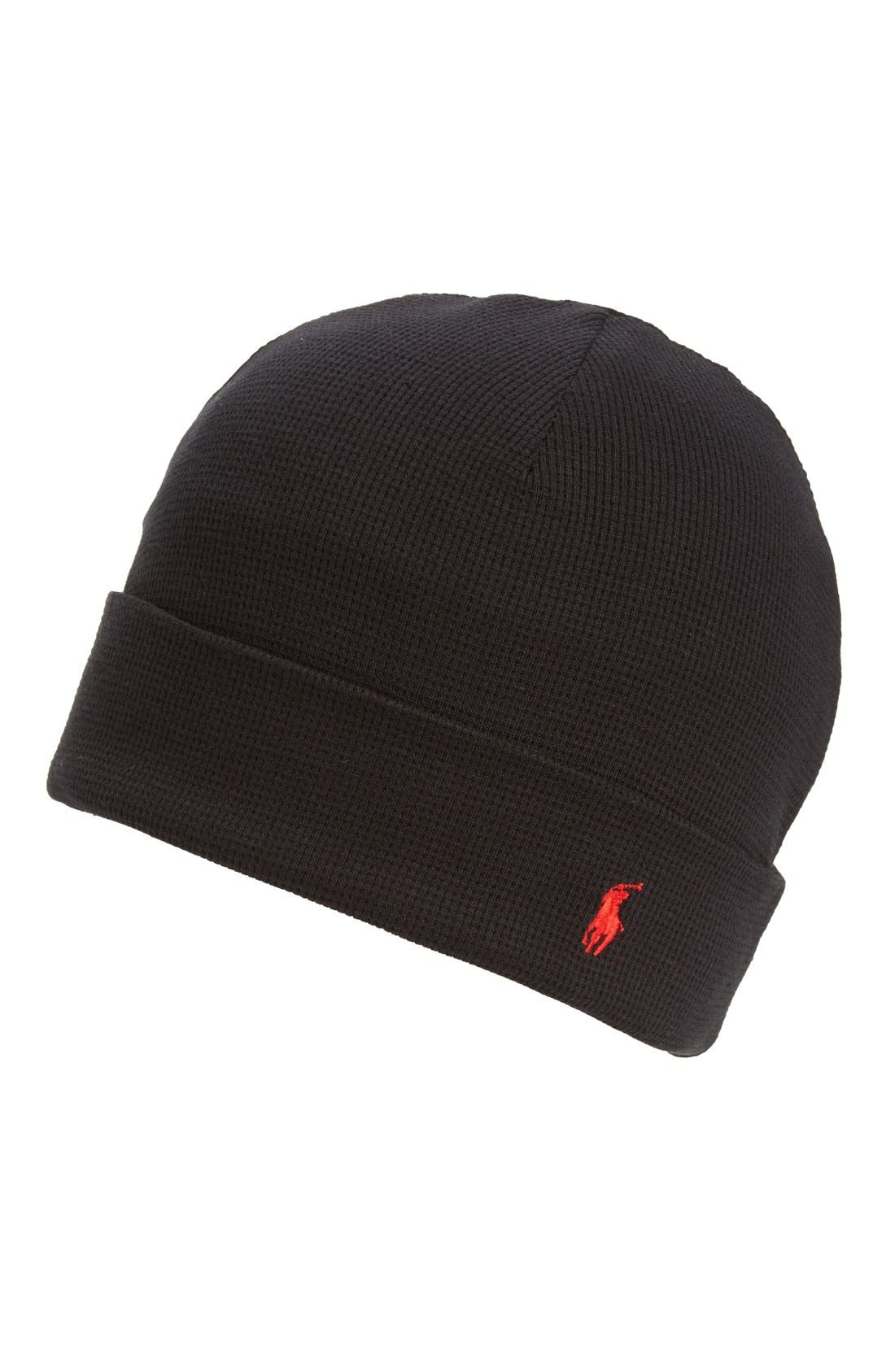 Polo Ralph Lauren Thermal Cuff Cotton Cap