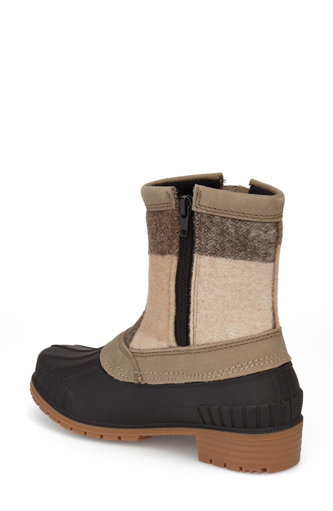 Avelle Waterproof Boot,                             Alternate thumbnail 2, color,                             Taupe Leather