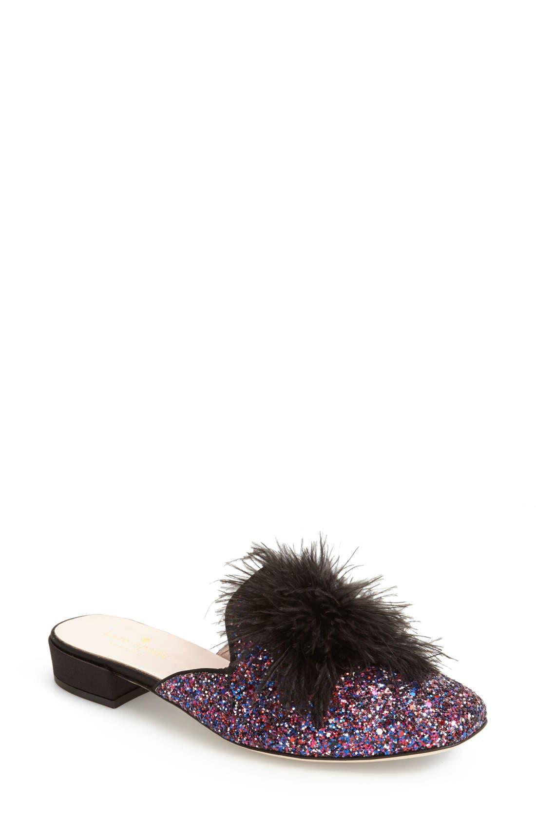Alternate Image 1 Selected - kate spade new york gala mule loafer (Women)