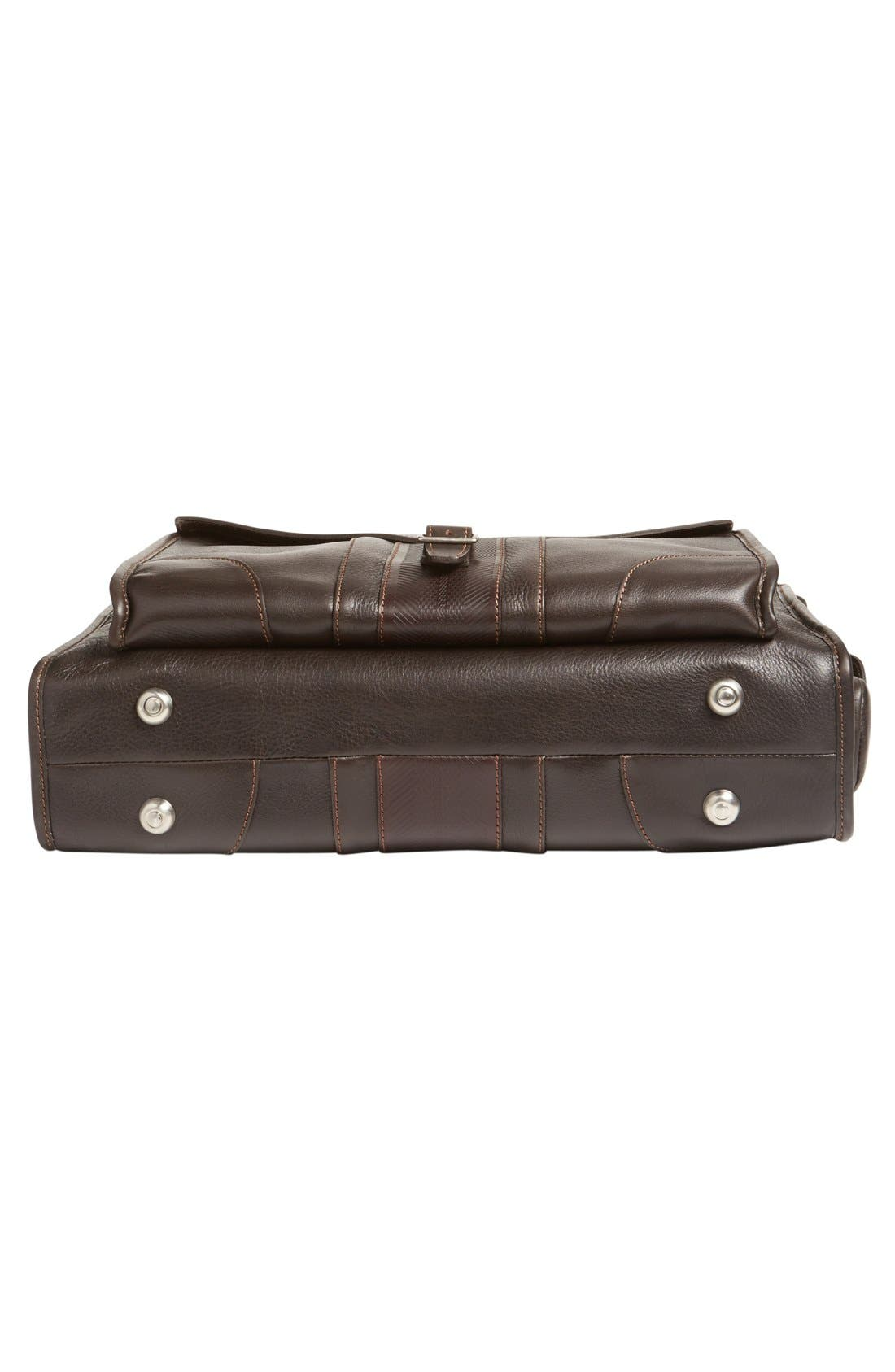 'Rudyard - Martingale' Briefcase,                             Alternate thumbnail 6, color,                             Dark Brown