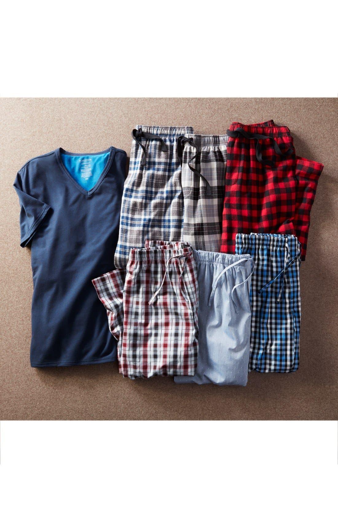 Alternate Image 7  - Nordstrom Men's Shop Flannel Lounge Pants