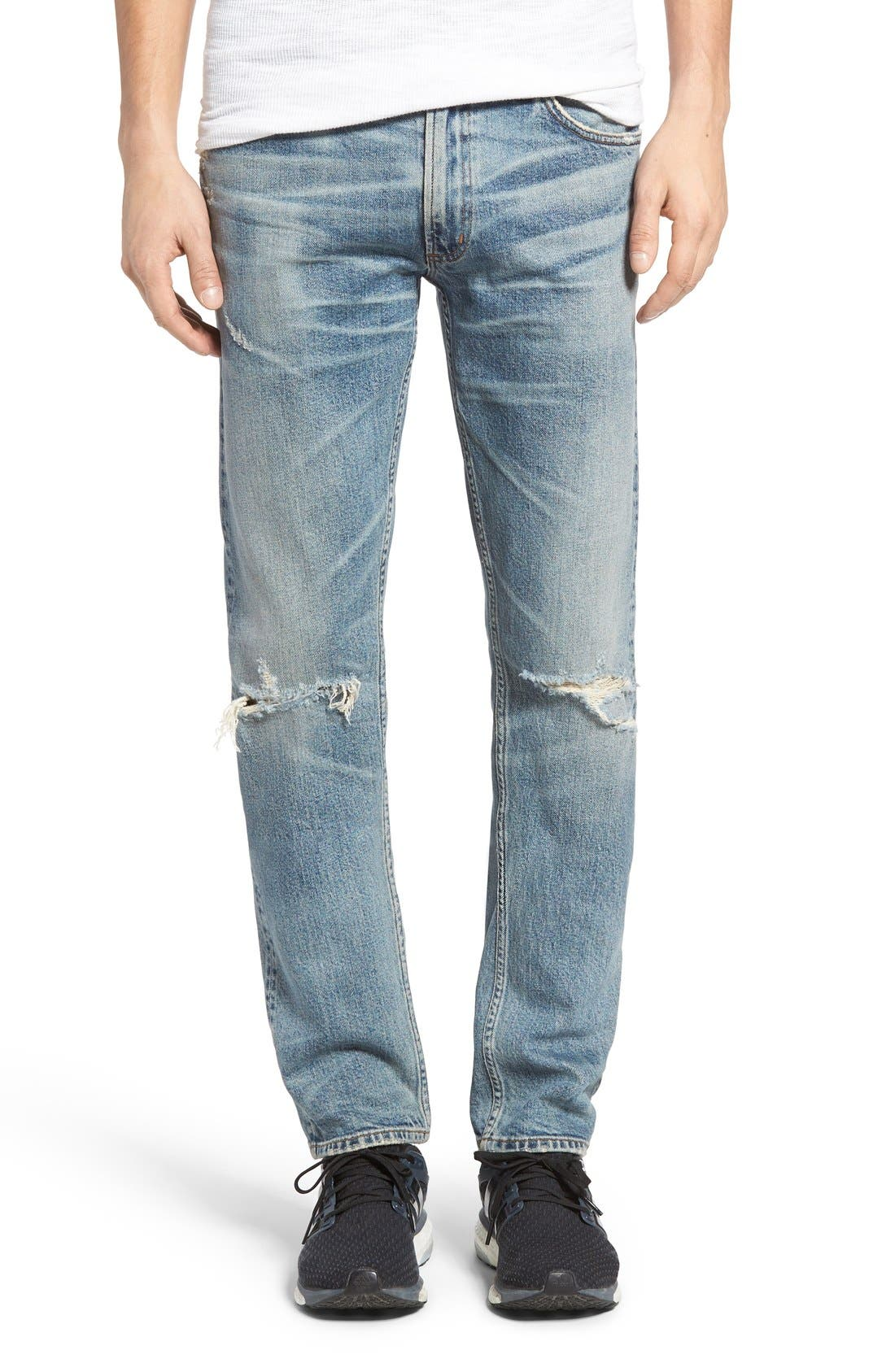 Citizens of Humanity Bowery Distressed Slim Fit Jeans (Salton Sea)