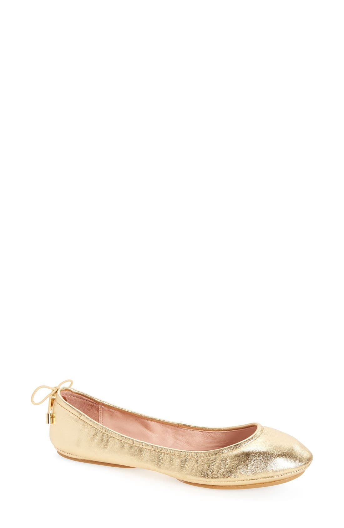 Main Image - kate spade new york globe foldable ballet flat (Women)