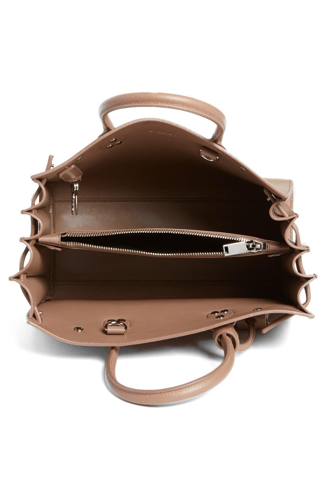 Alternate Image 4  - Saint Laurent 'Baby Sac de Jour' Bonded Leather Tote