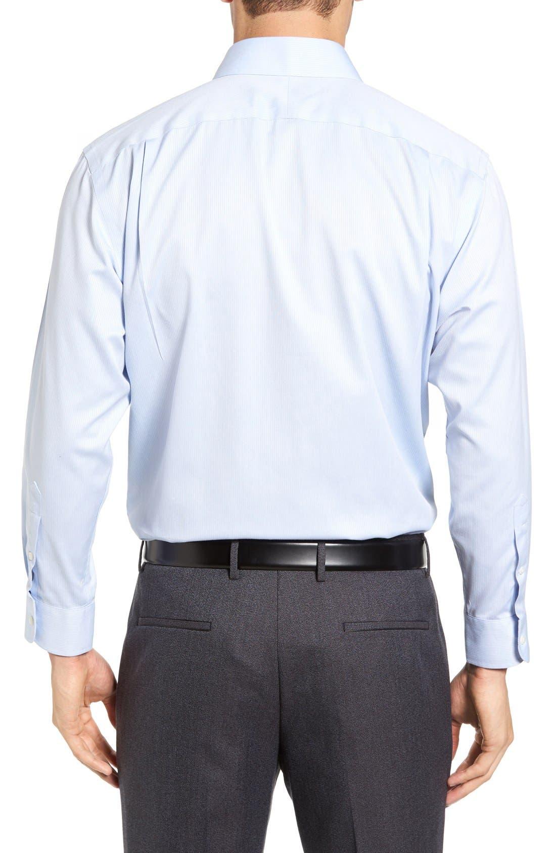 Alternate Image 3  - Nordstrom Men's Shop Smartcare™ Traditional Fit Stripe Dress Shirt