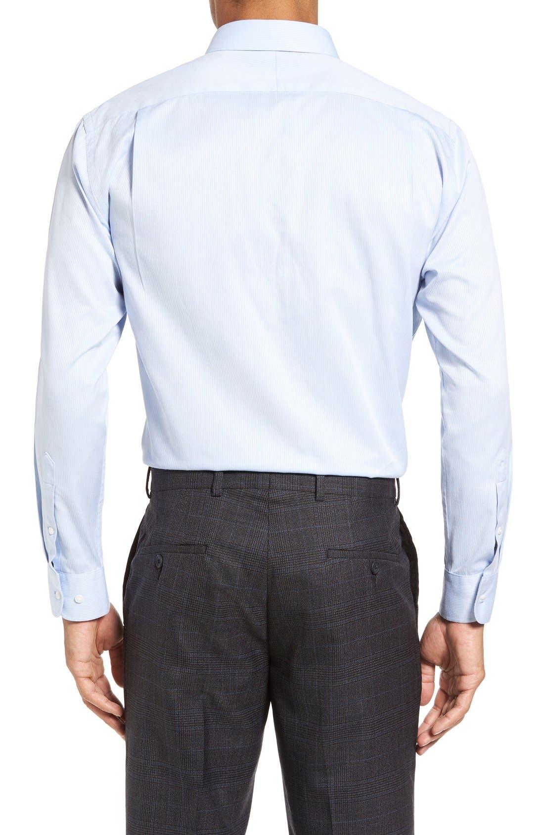 Alternate Image 3  - Nordstrom Men's Shop Smartcare™ Trim Fit Dress Shirt