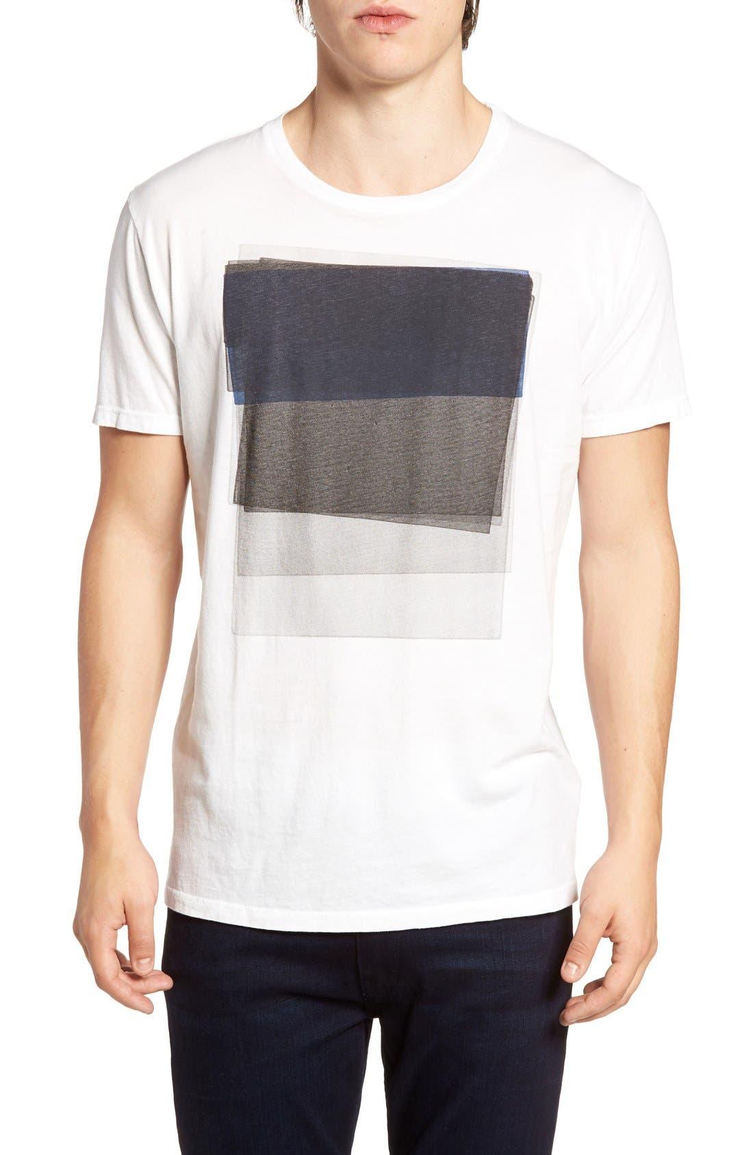 Alternate Image 1 Selected - Vestige Sunken Graphic T-Shirt