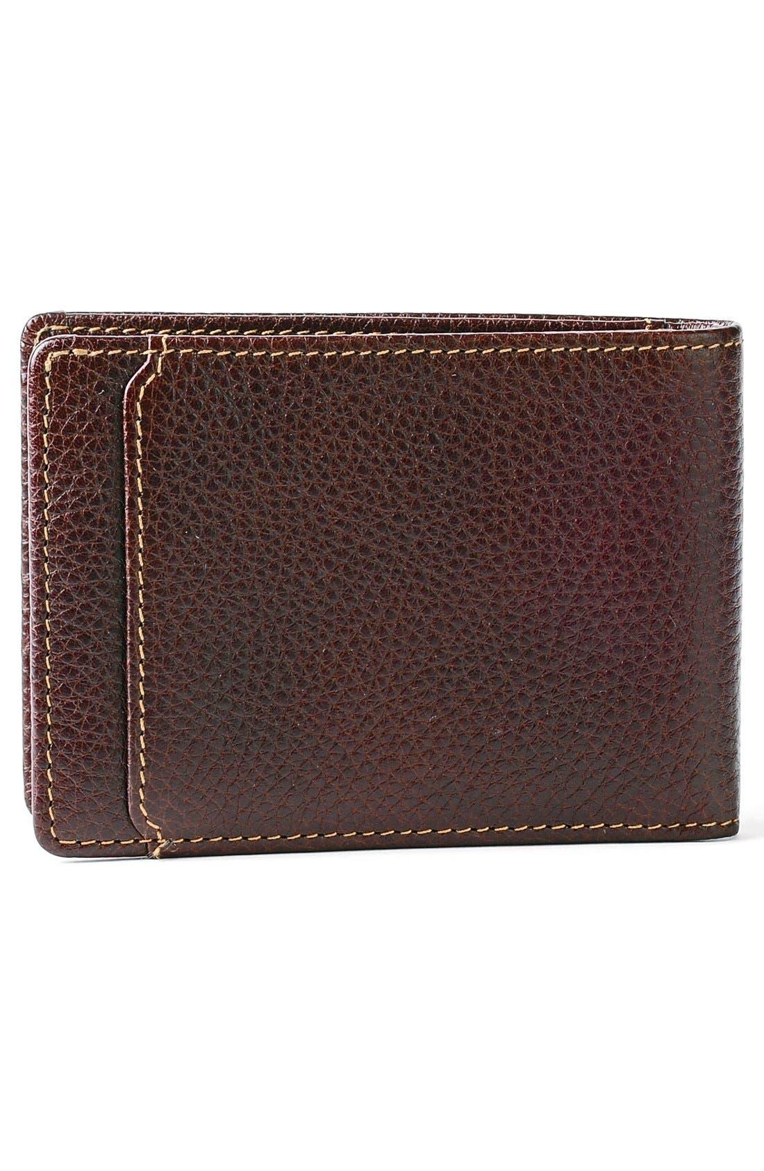 'Tyler' RFID Slimster Wallet,                             Alternate thumbnail 3, color,                             Coffee