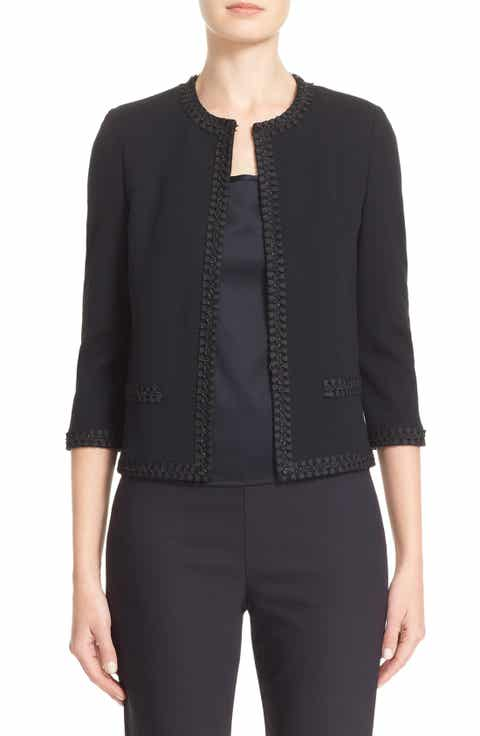St. John Collection Micro Piqué Jacket Buy